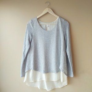Charming Charlie Layered Sweater